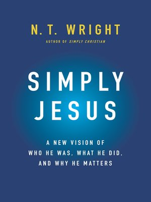 cover image of Simply Jesus