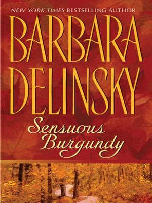 cover image of Sensuous Burgundy
