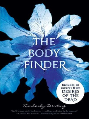 cover image of The Body Finder Low Price with Bonus Material