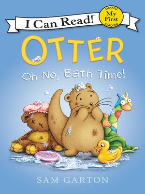 cover image of Oh No, Bath Time!