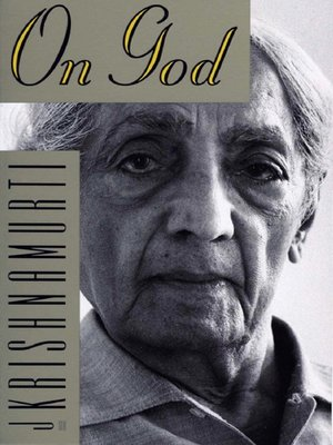 cover image of On God