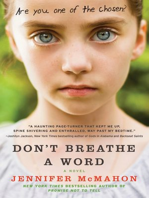 cover image of Don't Breathe a Word