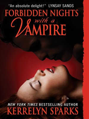 cover image of Forbidden Nights with a Vampire