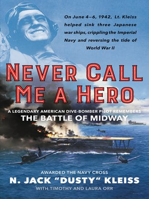 cover image of Never Call Me a Hero