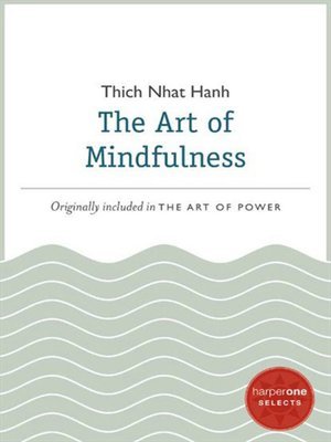 cover image of The Art of Mindfulness