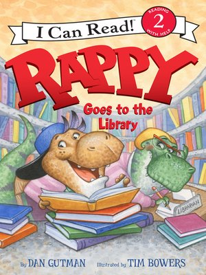 cover image of Rappy Goes to the Library