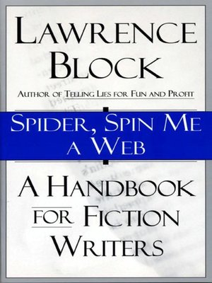 cover image of Spider, Spin Me A Web