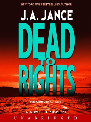 cover image of Dead to Rights