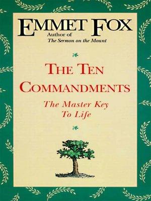 cover image of The Ten Commandments