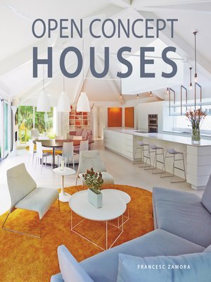 cover image of Open Concept Houses