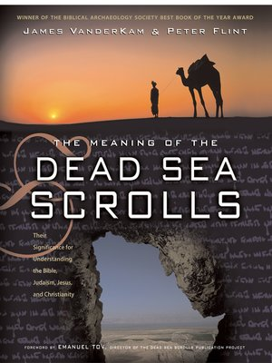 cover image of The Meaning of the Dead Sea Scrolls