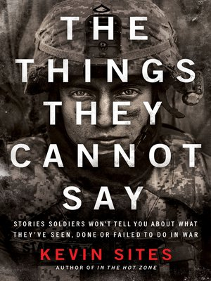 cover image of The Things They Cannot Say