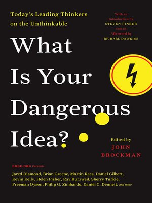 cover image of What Is Your Dangerous Idea?