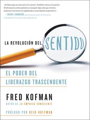 cover image of La revolución del sentido