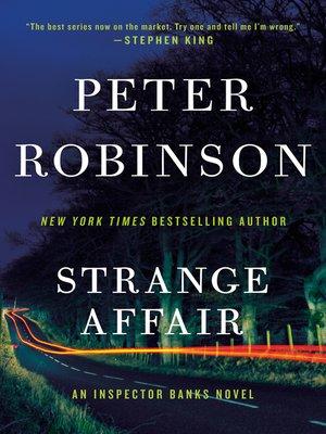 cover image of Strange Affair