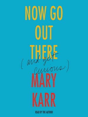 cover image of Now Go Out There