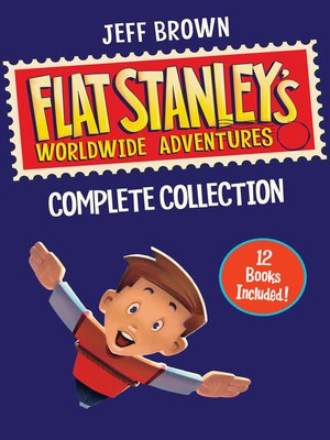 cover image of Flat Stanley's Worldwide Adventures Collection