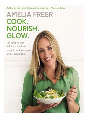 cover image of Cook, Nourish, Glow