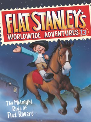 cover image of Flat Stanley's Worldwide Adventures #13
