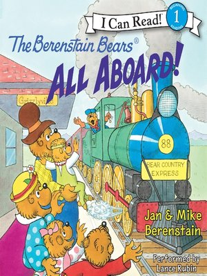 cover image of The Berenstain Bears All Aboard!