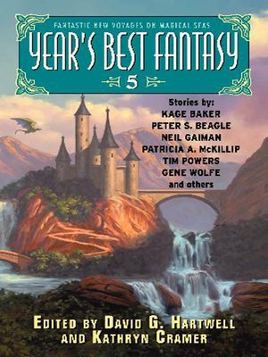 cover image of Year's Best Fantasy 5