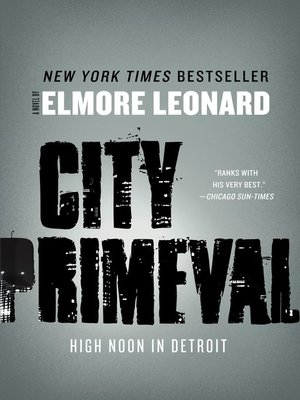 cover image of City Primeval