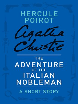 cover image of The Adventure of the Italian Nobleman