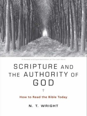 cover image of Scripture and the Authority of God