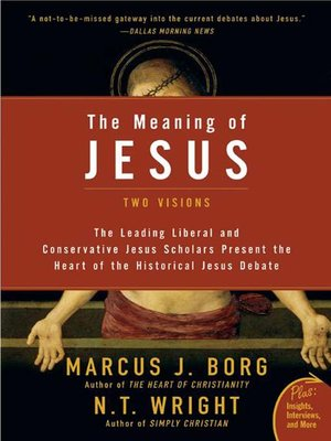 cover image of The Meaning of Jesus