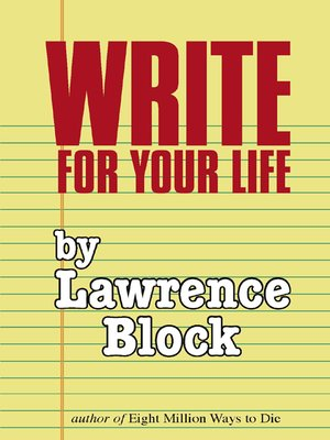 cover image of Write for Your Life