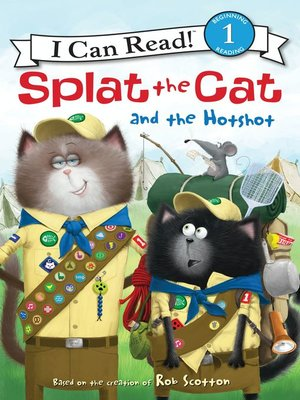 cover image of Splat the Cat and the Hotshot