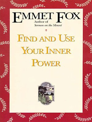 cover image of Find and Use Your Inner Power
