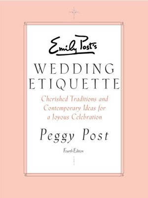 cover image of Emily Post's Wedding Etiquette