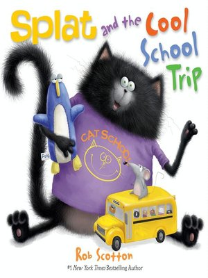 cover image of Splat and the Cool School Trip