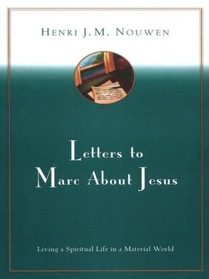 cover image of Letters to Marc About Jesus