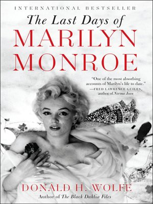 cover image of The Last Days of Marilyn Monroe
