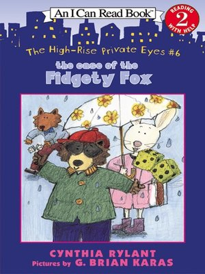 cover image of The Case of the Fidgety Fox