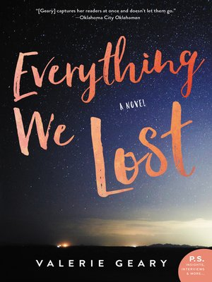 cover image of Everything We Lost