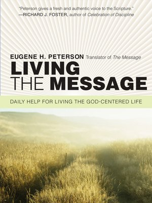 cover image of Living the Message