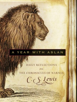 cover image of A Year with Aslan