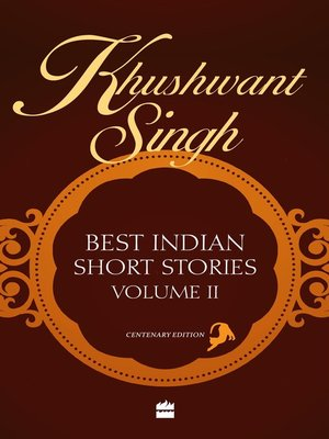cover image of Khushwant Singh Best Indian Short Stories Volume 2