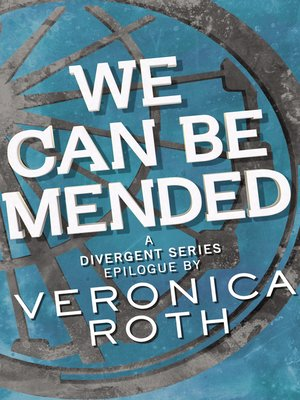 cover image of We Can Be Mended