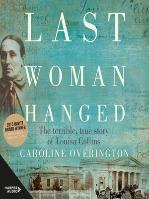 cover image of Last Woman Hanged