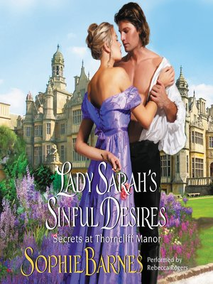 cover image of Lady Sarah's Sinful Desires