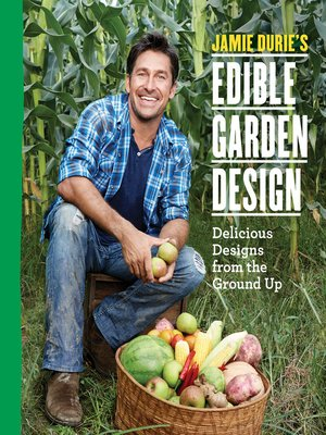 cover image of Jamie Durie's Edible Garden Design