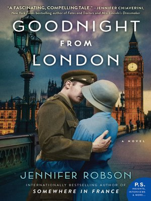 cover image of Goodnight from London