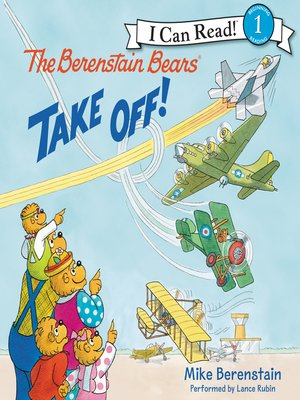 cover image of The Berenstain Bears Take Off!