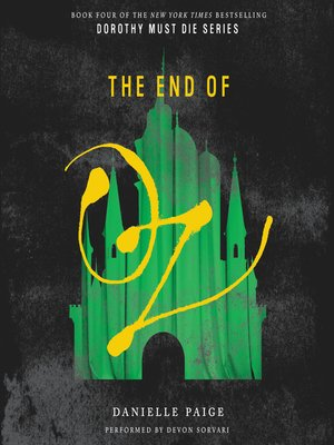 cover image of The End of Oz
