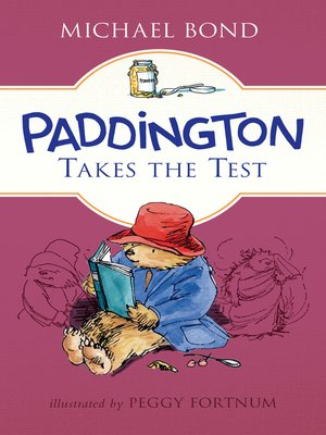 cover image of Paddington Takes the Test