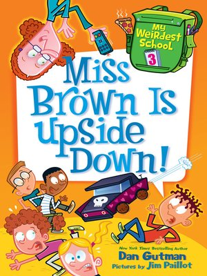 cover image of Miss Brown Is Upside Down!